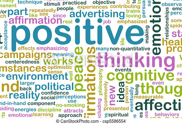 Thinking Positive - csp5586554