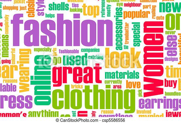 Fashion Industry - csp5586556