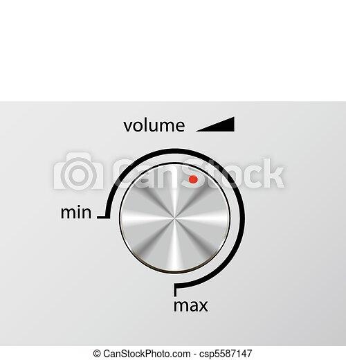 Volume control. - csp5587147