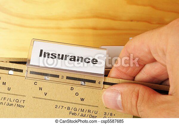 insurance - csp5587685