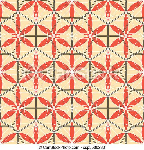 flower's lattice - csp5588233
