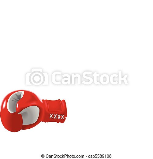 Boxing Glove - csp5589108