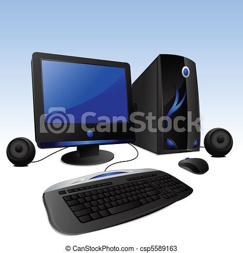 Desktop Computer - csp5589163