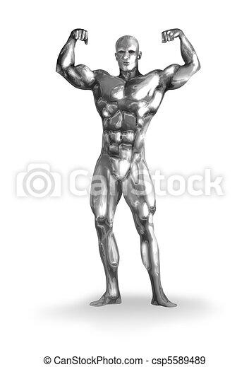 Chromeman_Body Builder - csp5589489