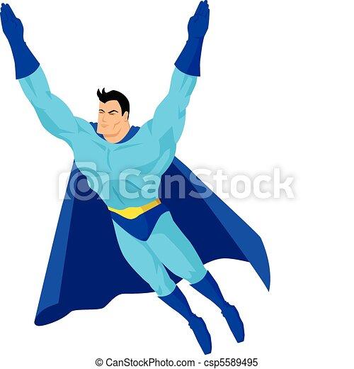 Superhero - csp5589495