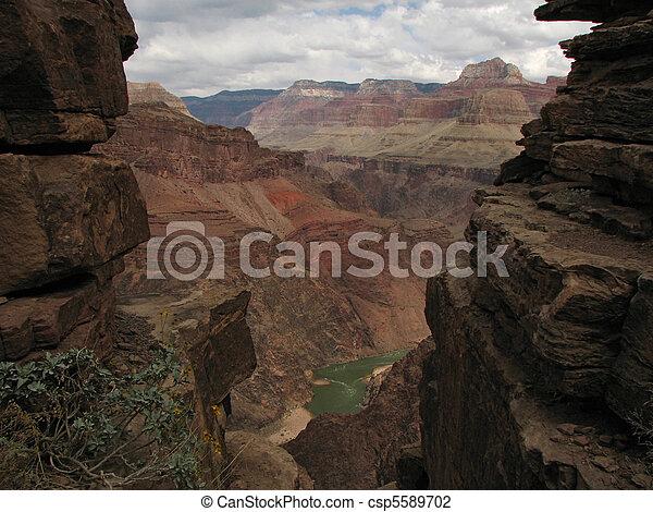 Grand Canyon inner gorge - csp5589702