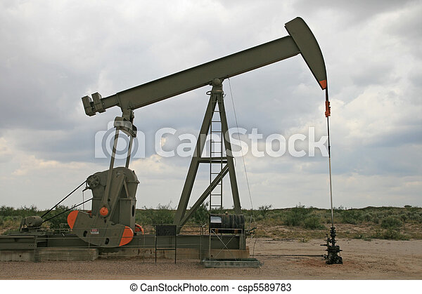 oil pumpjack - csp5589783