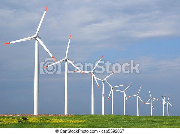 Wind turbines - csp5592067
