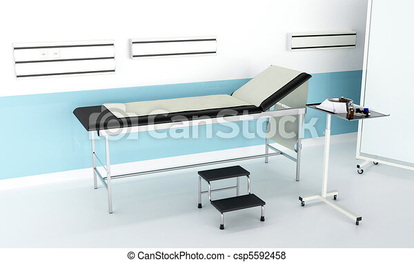 Hospital consulting room - csp5592458