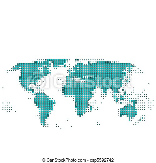 Worldmap - csp5592742