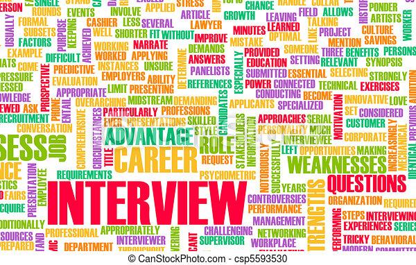 Job Interview - csp5593530
