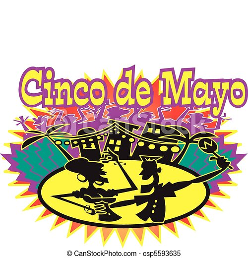 Cinco de Mayo holiday celebration - csp5593635