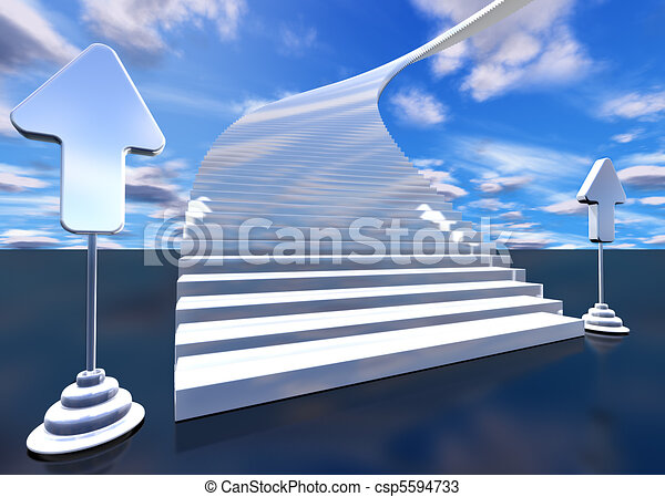 stairway to heaven - csp5594733