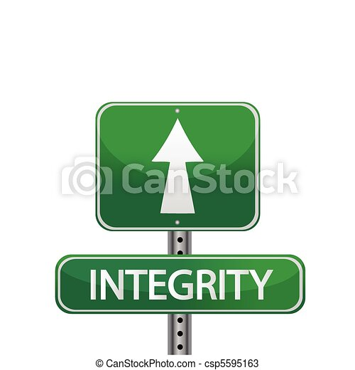 integrity sign - csp5595163