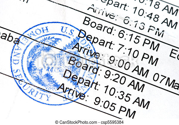 Boarding Pass - csp5595384