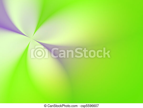 Green Spring flower - csp5596607