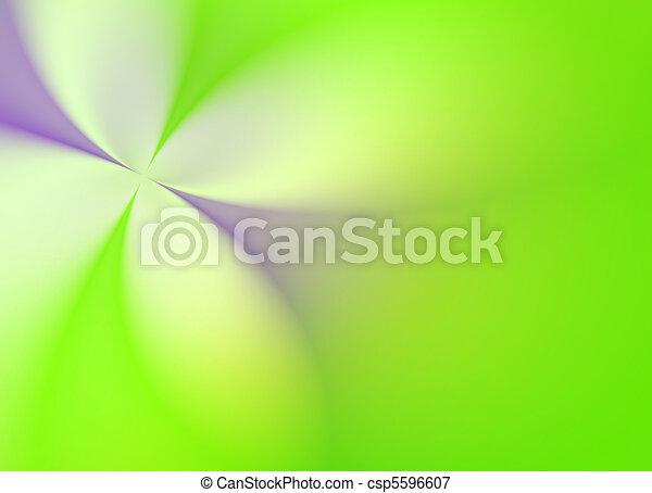 Green Spring flower - csp5596607