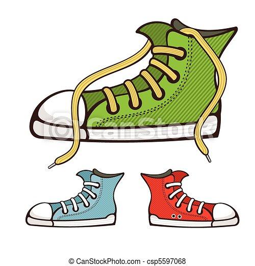 vector sneakers - csp5597068
