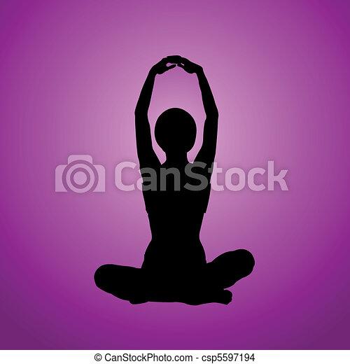 Meditation - csp5597194