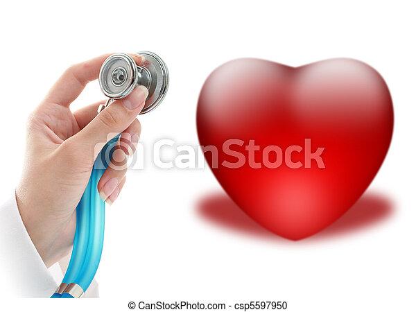 seguro, saúde - csp5597950