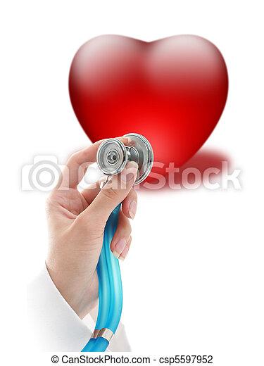 seguro, saúde - csp5597952