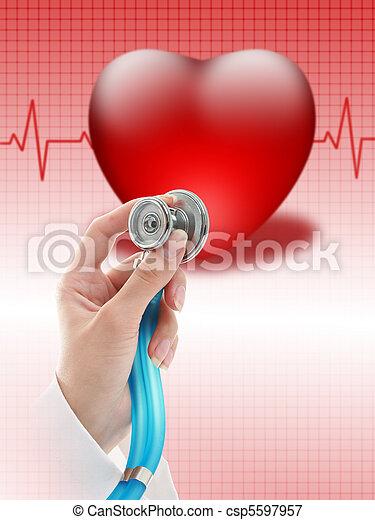 Health insurance. - csp5597957