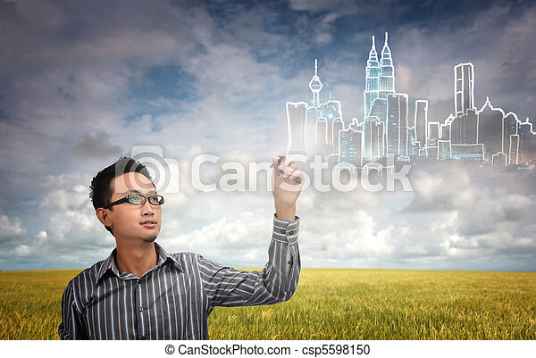 city development - csp5598150