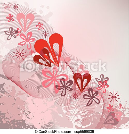 Spattered background with a diagona - csp5599039