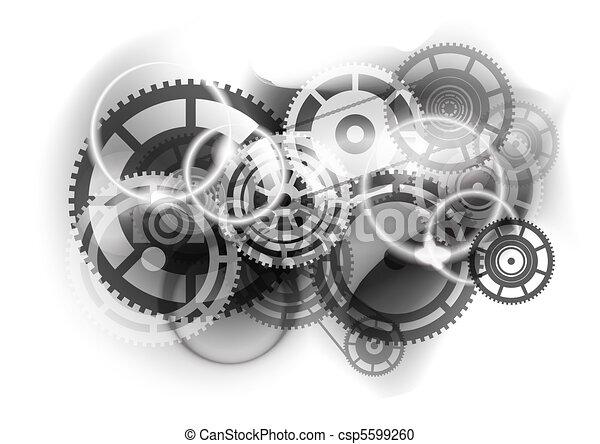 cogwheel industry - csp5599260