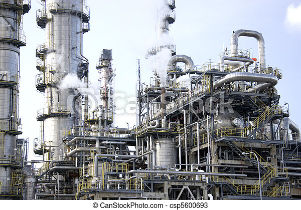 Oil Refinery - csp5600693