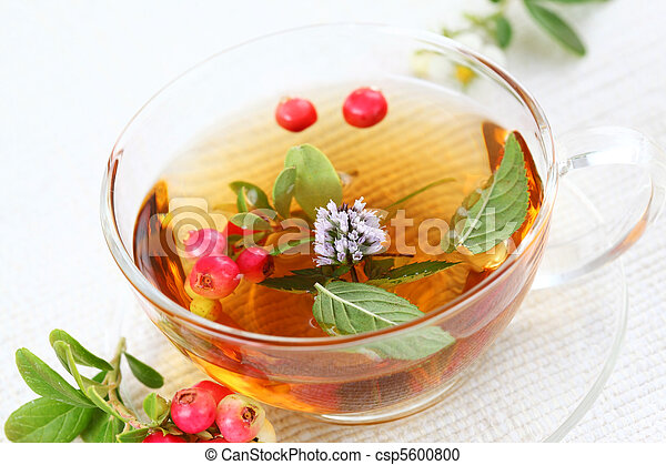 Vitality cranberry tea - csp5600800