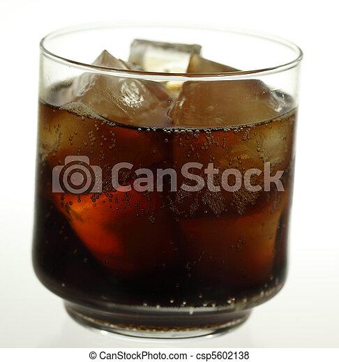 Glass of Soda - csp5602138
