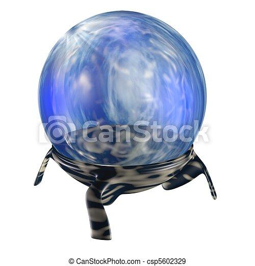 Magic blue orb - csp5602329
