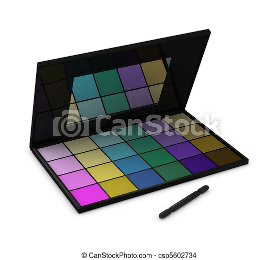 eyeshadow box - csp5602734