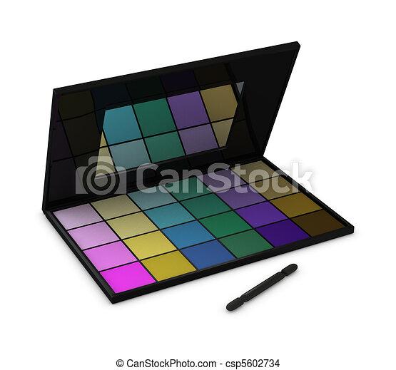 eyeshadow box - csp5602734