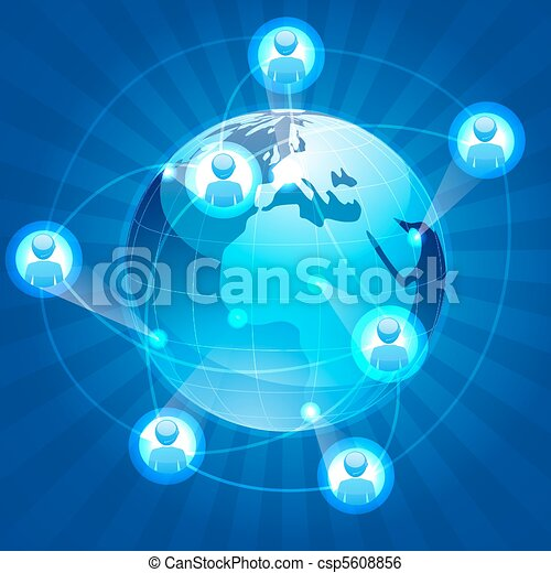 social networking - csp5608856