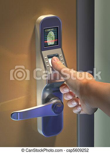 Biometric access - csp5609252