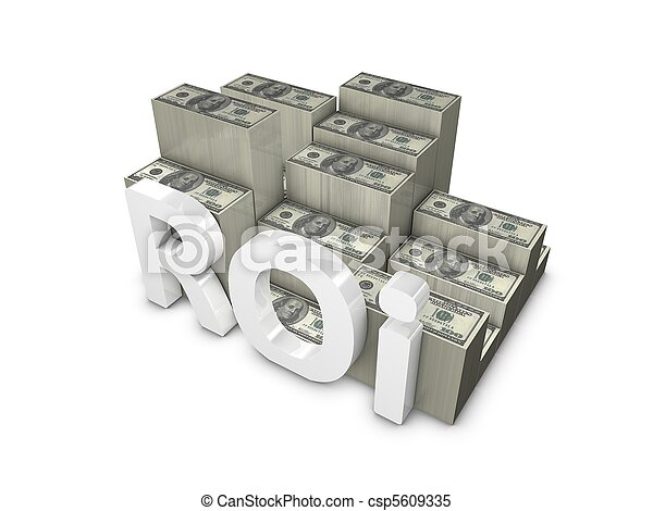 Return on Investment - csp5609335