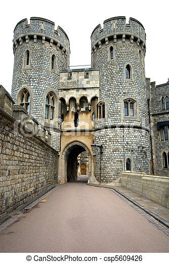 Windsor Castle, England, Great Britain - csp5609426