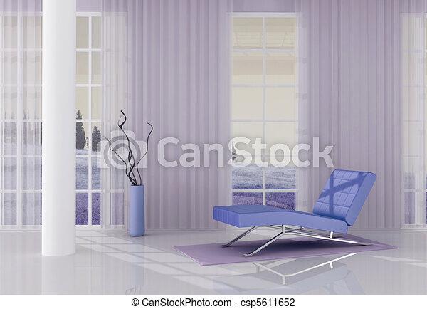 lilla relax room - csp5611652