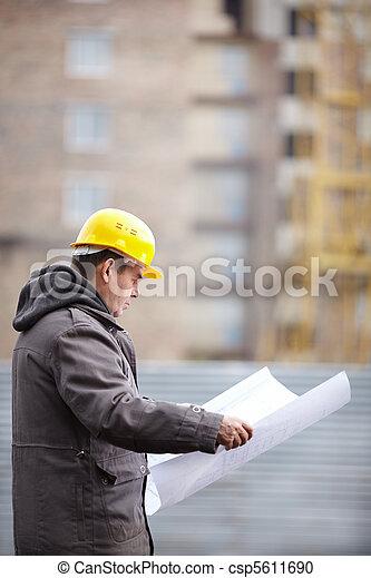 construção, sob - csp5611690