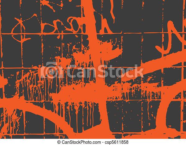 graffiti wall - csp5611858