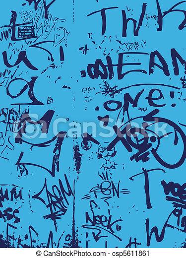 graffiti wall - csp5611861
