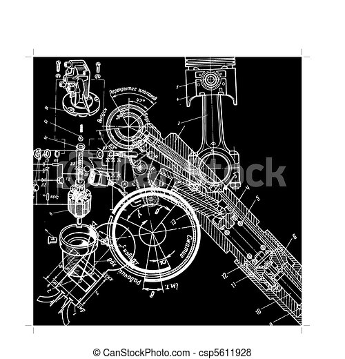 technical drawing - csp5611928
