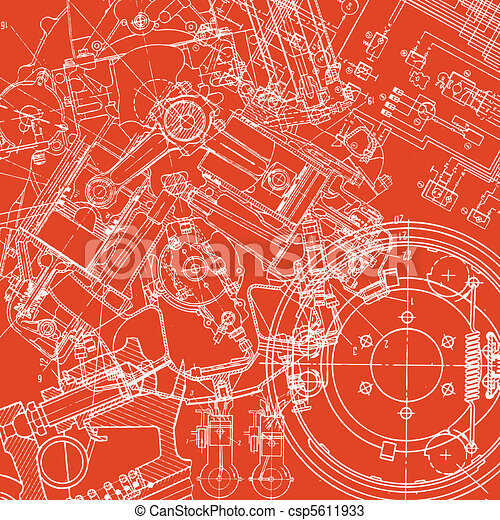 technical drawing - csp5611933