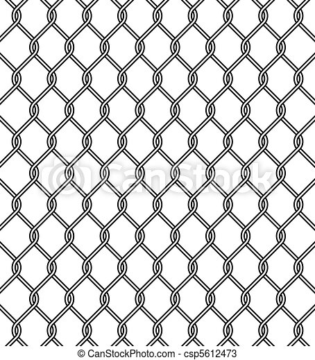 chain link fence texture - csp5612473