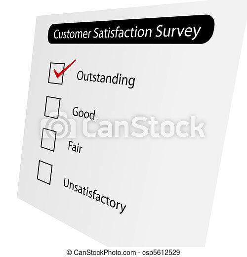 Customer Satisfaction Survey - csp5612529
