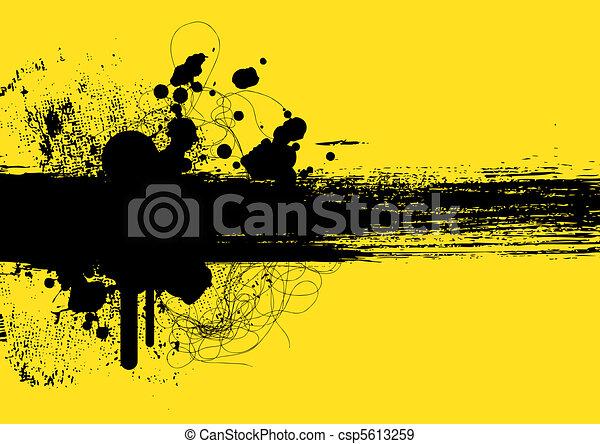grunge background - csp5613259