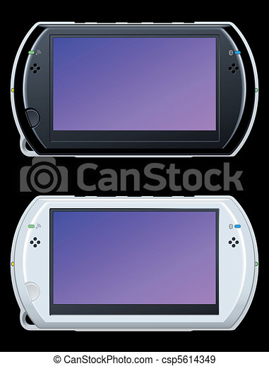 portable video game console - csp5614349