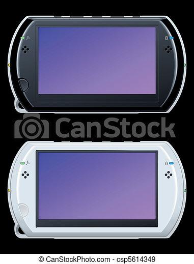 portable video game console - csp5614349